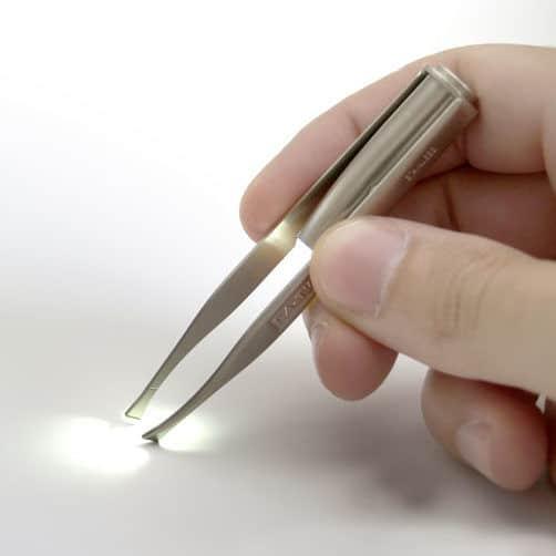 Perfektionspinzette mit LED-Licht