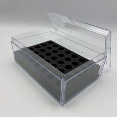 Transportboxen für Pigmentierfarben - Box 35 Flaschen à 3ml