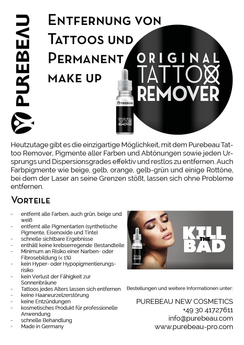Purebeau Original Tattoo Remover